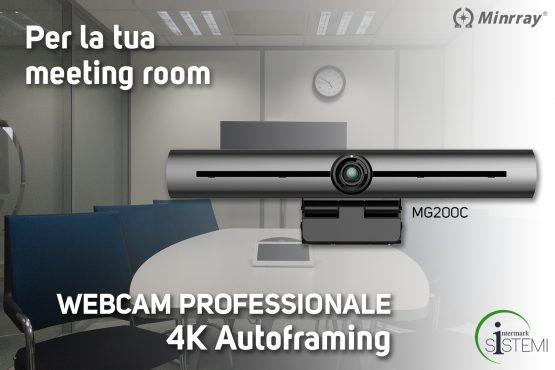 Webcam-4k-autoframing-minrray-intermark-sistemi