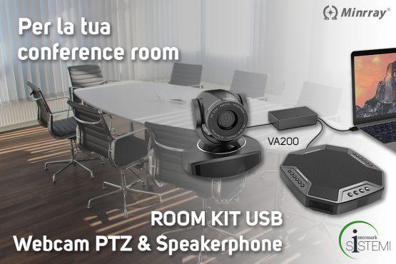 Webcam-room-kit-speakerphone-minrray-intermark-sistemi