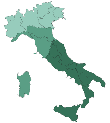 Mappa contatti